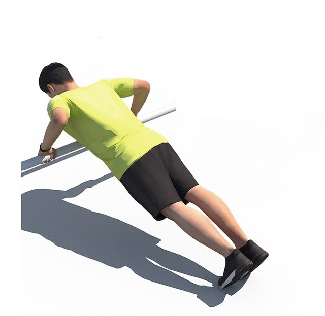 Push Up Incline Parallel