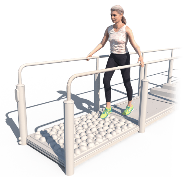 Walking With Support Surface