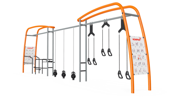 Suspension Trainer, Parallel Bars & Magnetic Bells