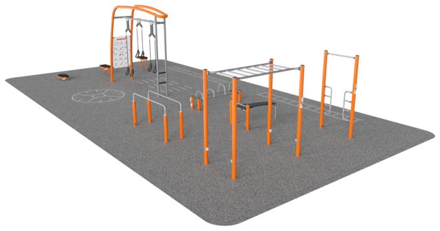 Cross Training, Street Workout 130m²