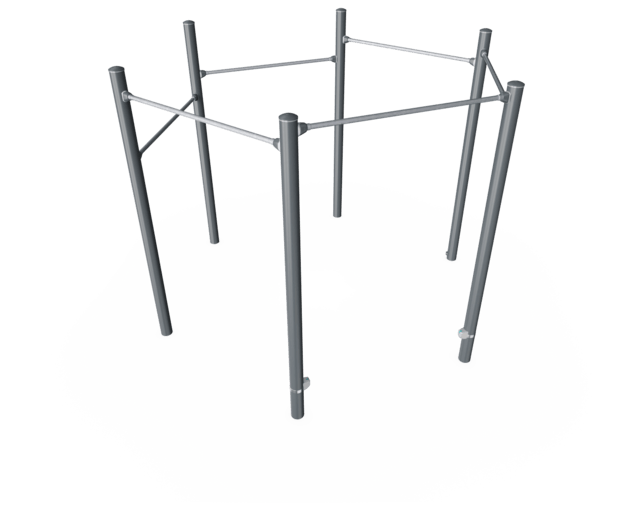 Hexagon Pull-Up Station Pro