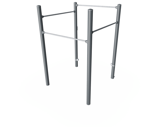 Square Pull-Up Station Pro