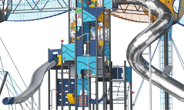 GIANT play tower