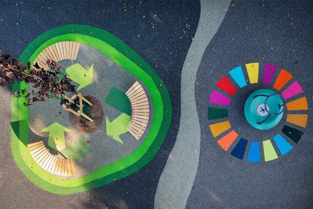 The birth of a Full-Circle Playground