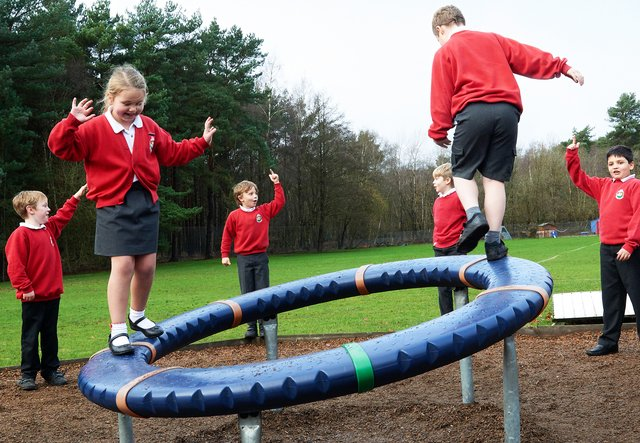 Benefits Of Outdoor Play For Children At Primary School