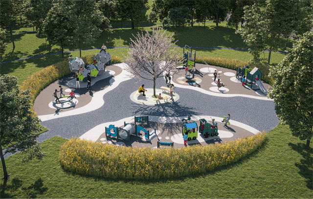 The first sustainable playground is being born