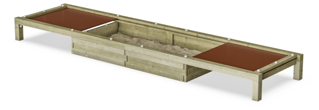 Sand Box with Lids