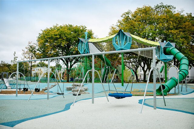 Lincoln Park Playground, US