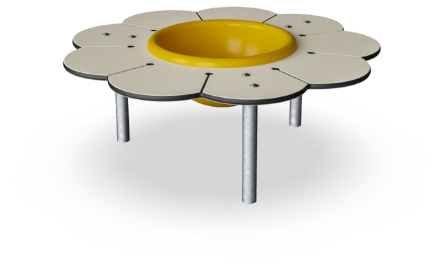 Daisy Desk with Bowl