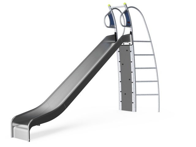Slide with Climbing Wall