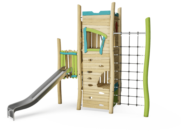 Tower House with Slide