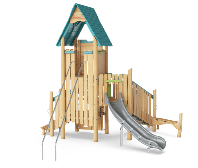 Multideck Tower with Banister Bars