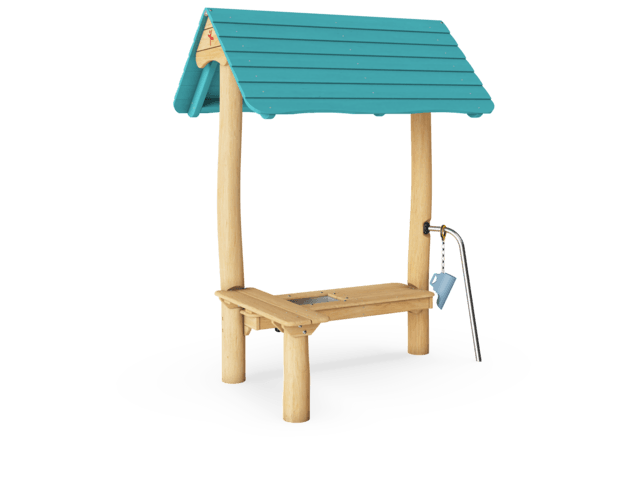 Oasis Sand Hut with Two Tables