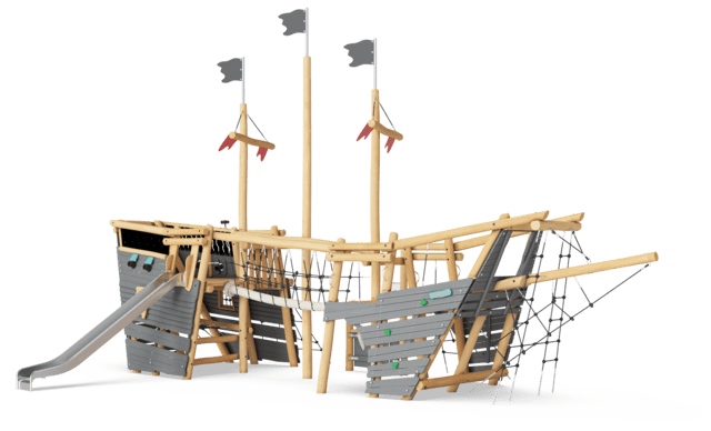 Robinia Piratenschip L