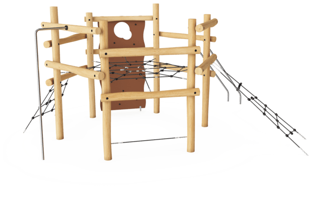 Six-Sided Climbing Structure