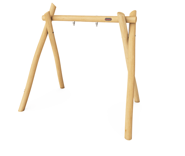 Swing frame for 1 seats