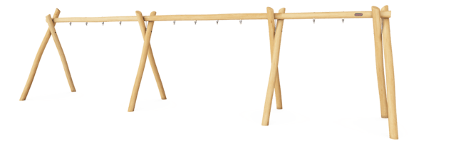 Swing frame for 5 seats