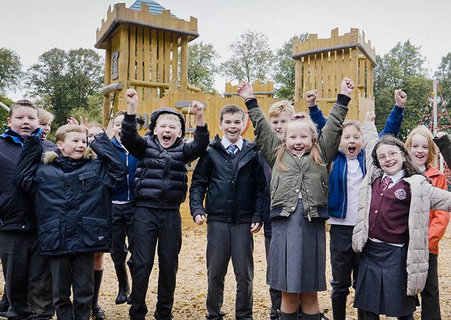 Robertson Park Welcomes UK's 1st Robinia Castle