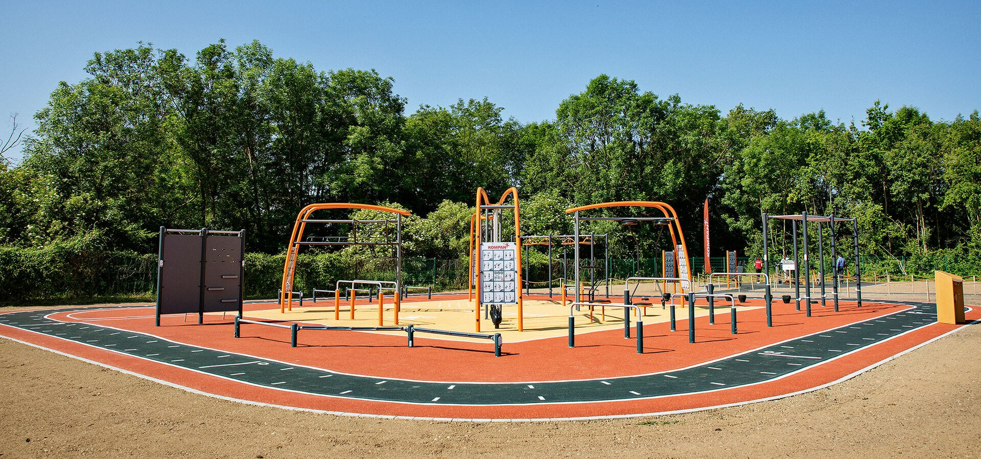 Outdoor fitness for colleges & universities