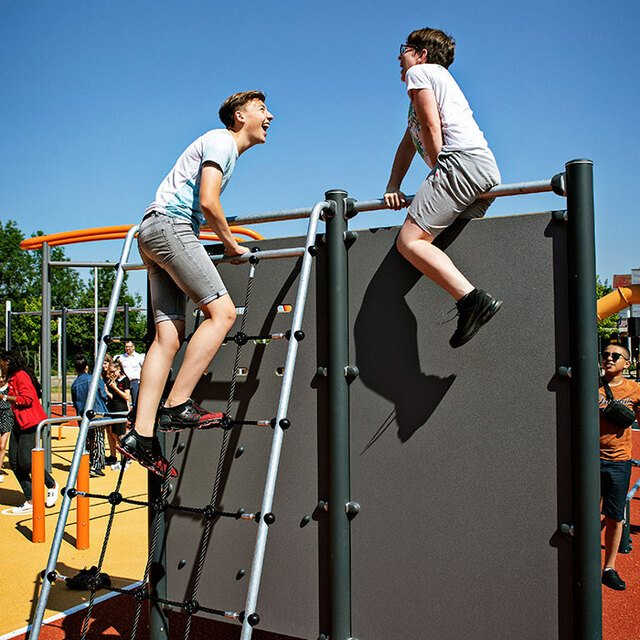 Why Every Secondary School Should Have Outdoor Gym Equipment