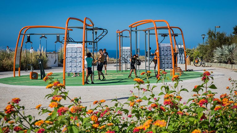 How to design outdoor fitness spaces