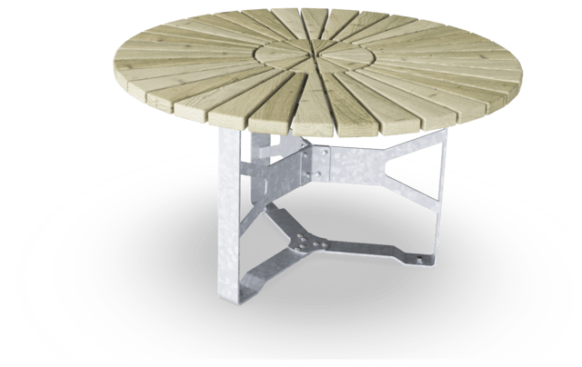 Rumba Table, Round, 4 ft 3in