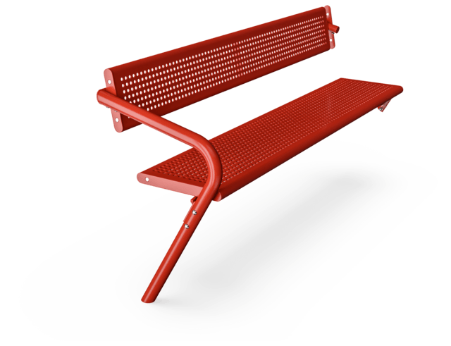 Agora Steel Extension Bench with Backrest