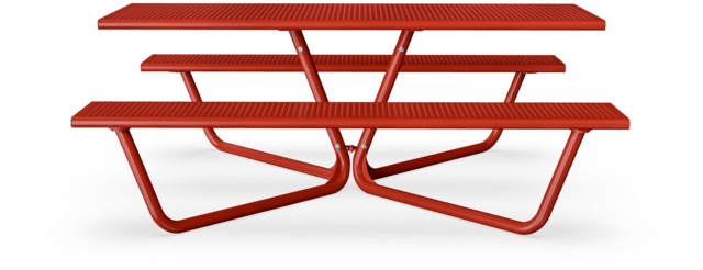 Agora Steel Picnic Bench Table Set