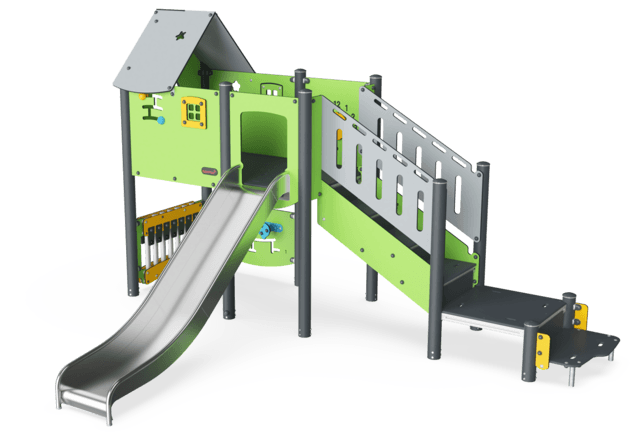 Play Tower with Stairs & Play Panels