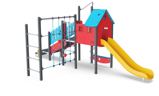 Play Tower with Curly Climber & Net
