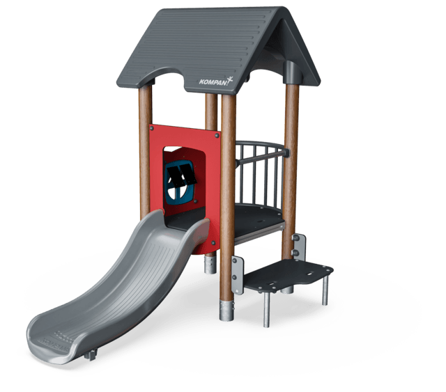Play Tower with Balcony & Step