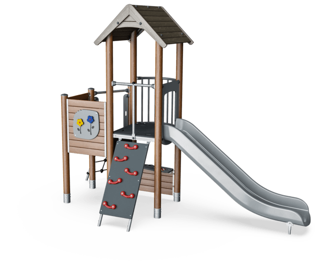 Play Tower with Climbing Access