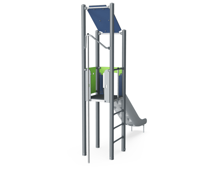 Play Tower with Fireman's Pole, Basic