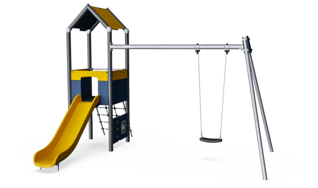 Play Tower with Swing, Physical