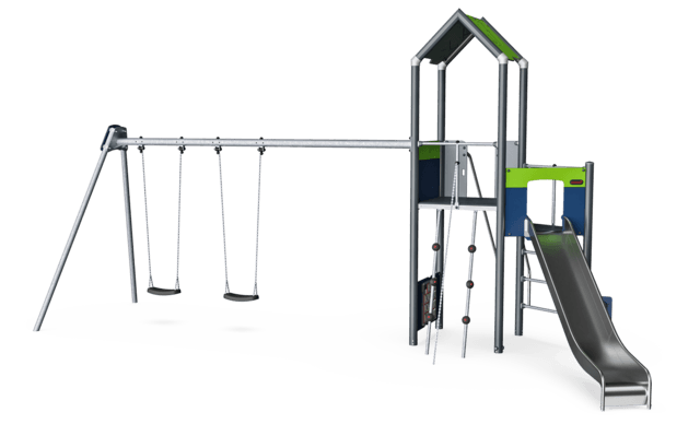 Play Tower with Double Swing