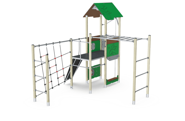 Play Tower & Overhead Ladder, Physical