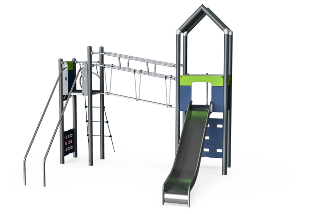 Double Tower with Slide