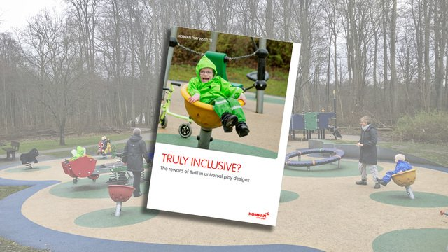 Truly inclusive – the reward of thrill in universal play designs