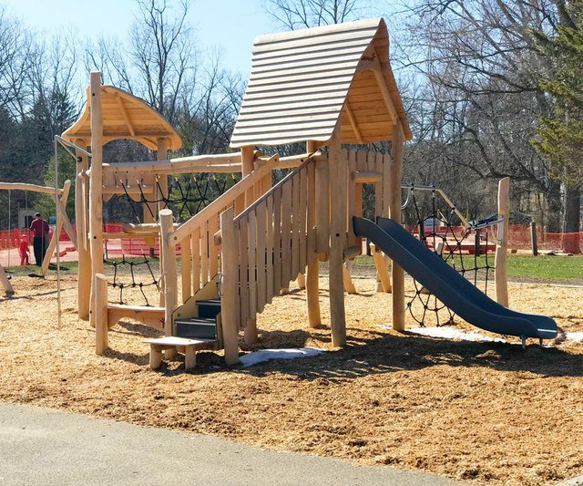 Huff Park Reopens