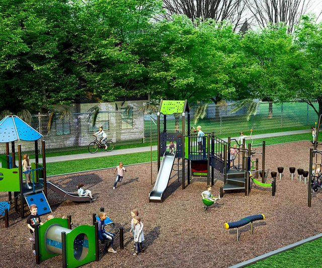 KOMPAN Partners with City of Albany to build new playground at Madison Avenue Park
