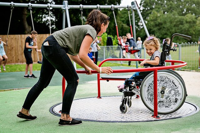 Wheelchair Carousel - Spinning is for all