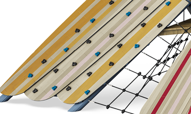 Inclined surfaces